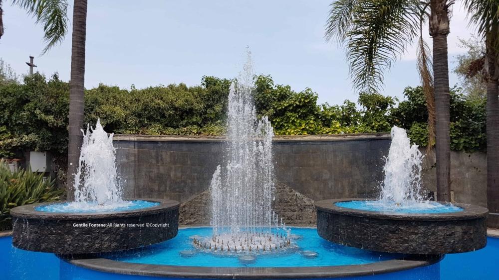 Fontana Modello a Spirale