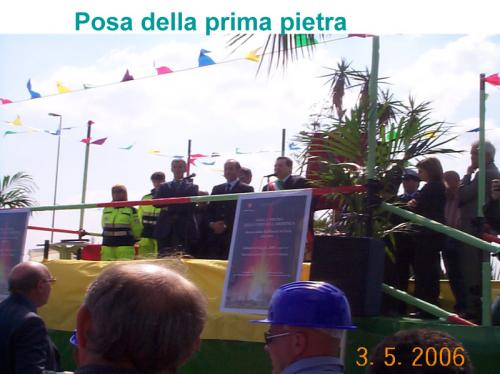 Inaugurazione Fontana Rotatoria Gela