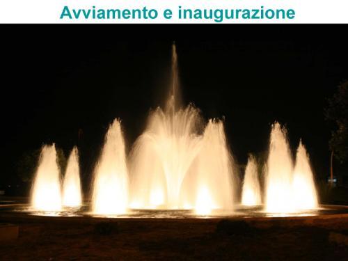 Avviamento fontana